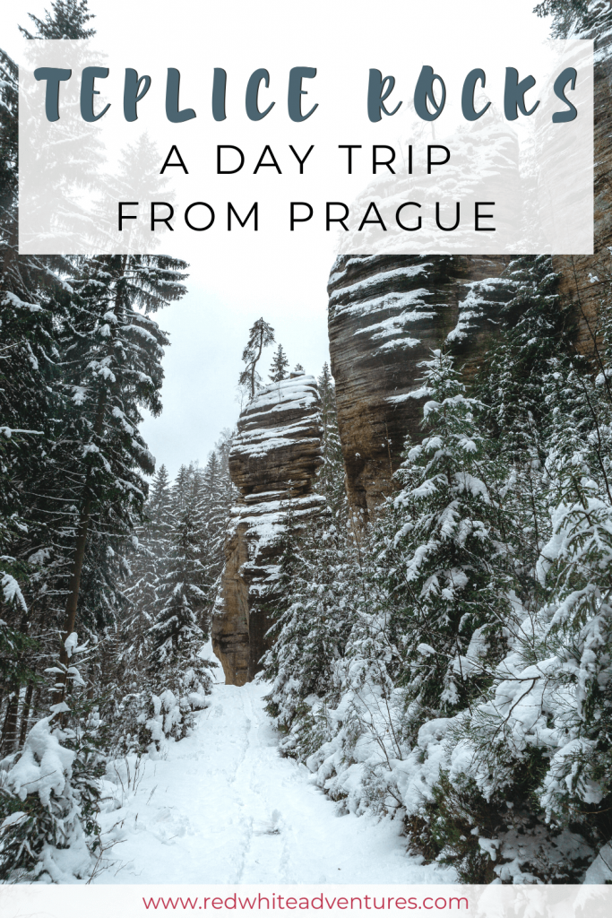 Teplice Rocks National Park is an amazing place to visit in Czechia during summer or winter.