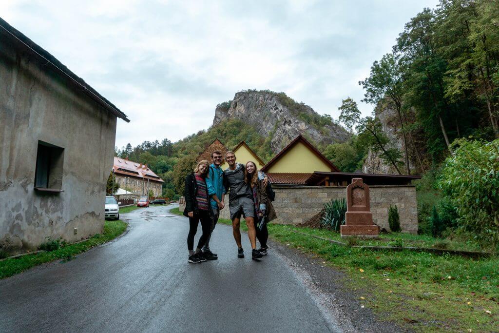 Hiking in the Czech Republic.