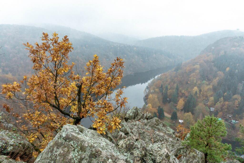 Views of Nature in the Czech Republic. A perfect day trip from Prague.