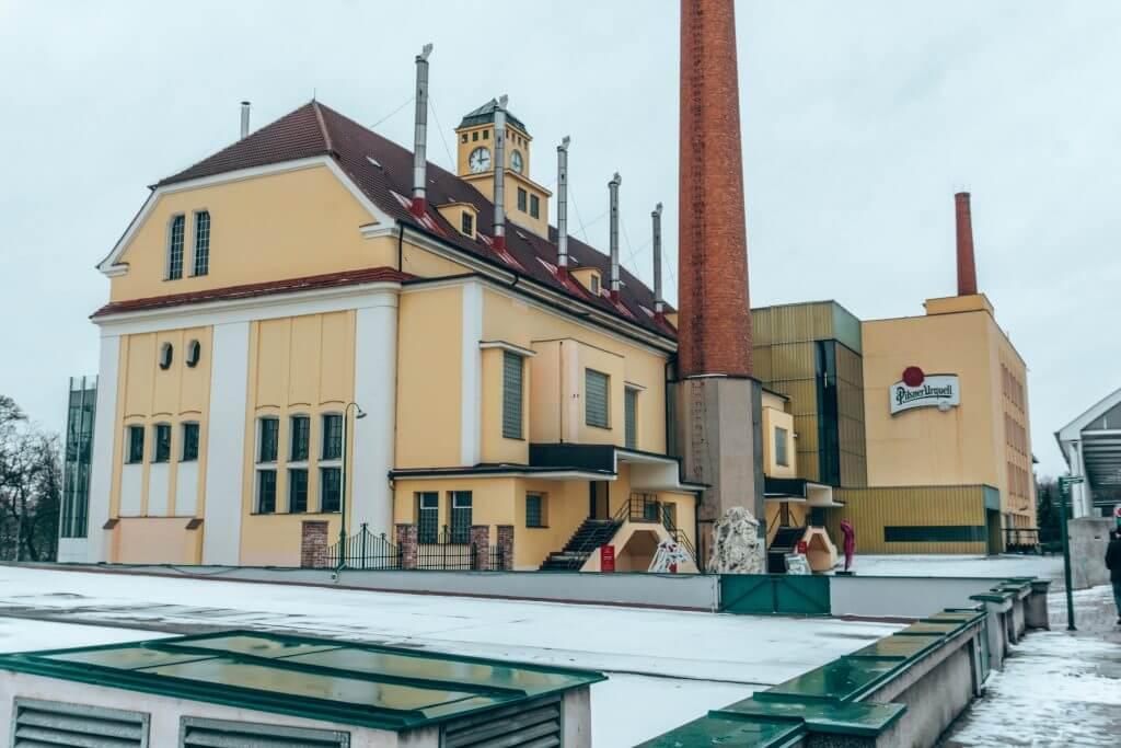The best brewery in Czech Republic, Pilsner Urquell.