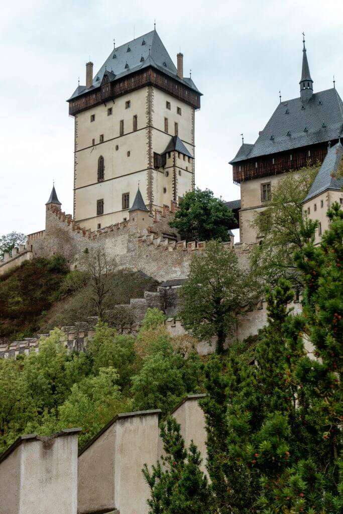 Karlstejn Castle is the perfect day trip from Prague.
