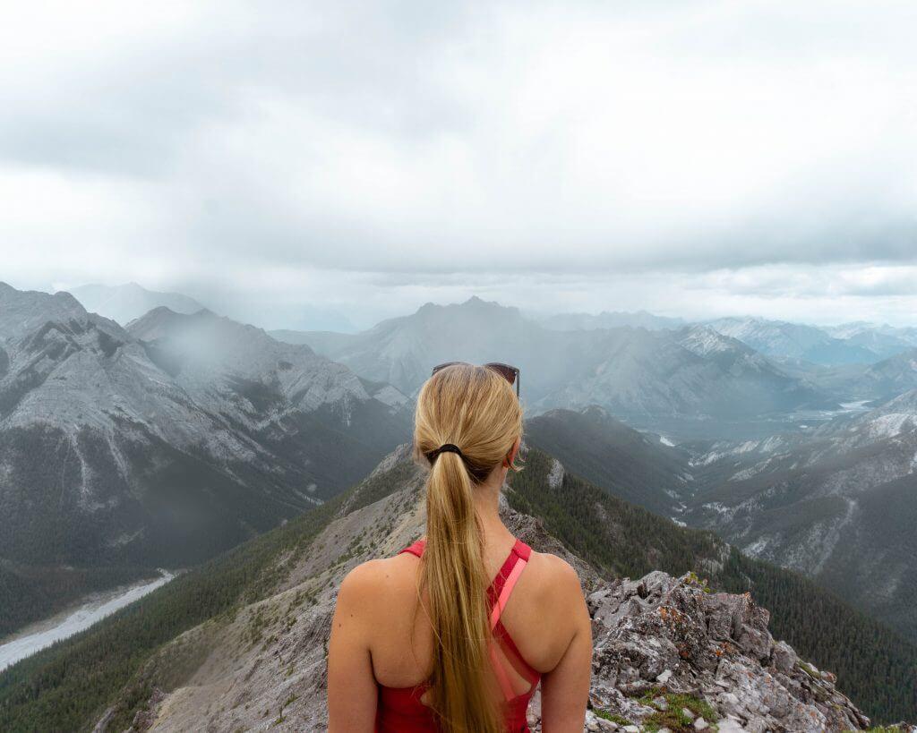 Wasootch Ridge in Kananaskis, Alberta!