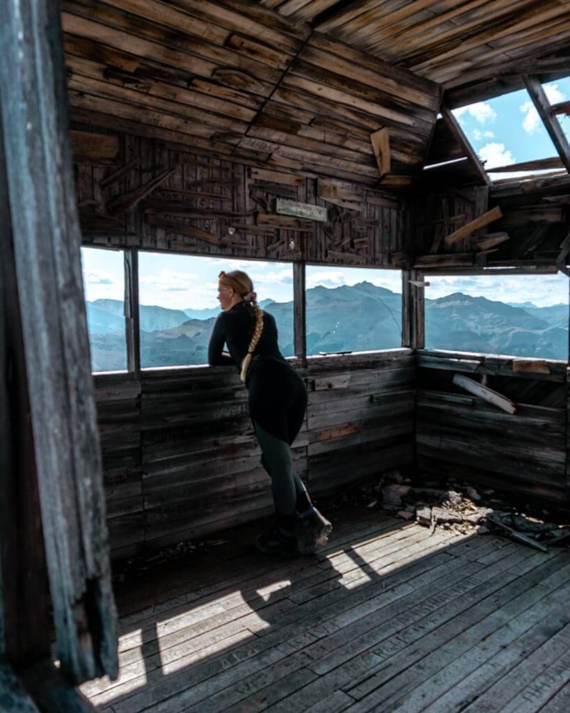 Black Rock Mountain Hut.