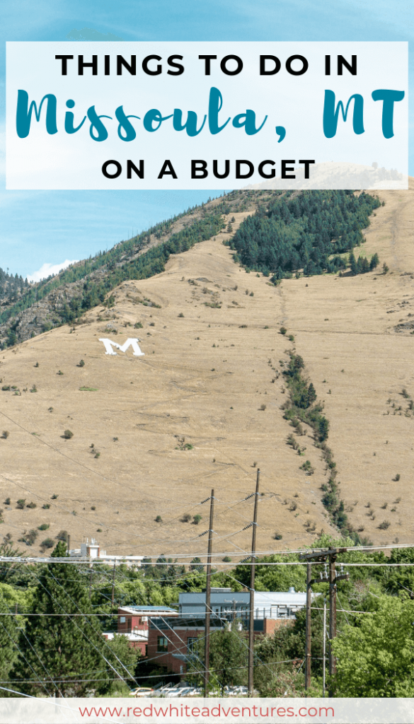 Pin for Pinterest of hiking in Missoula.