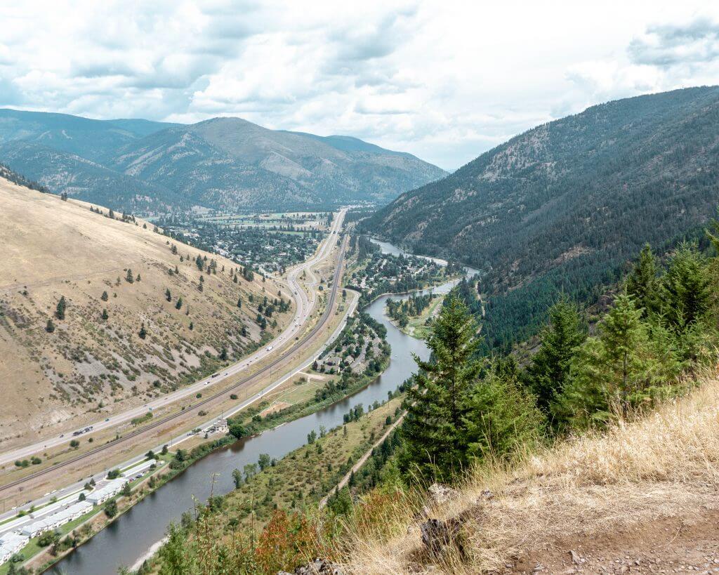 M trail in Missoula, Montana.