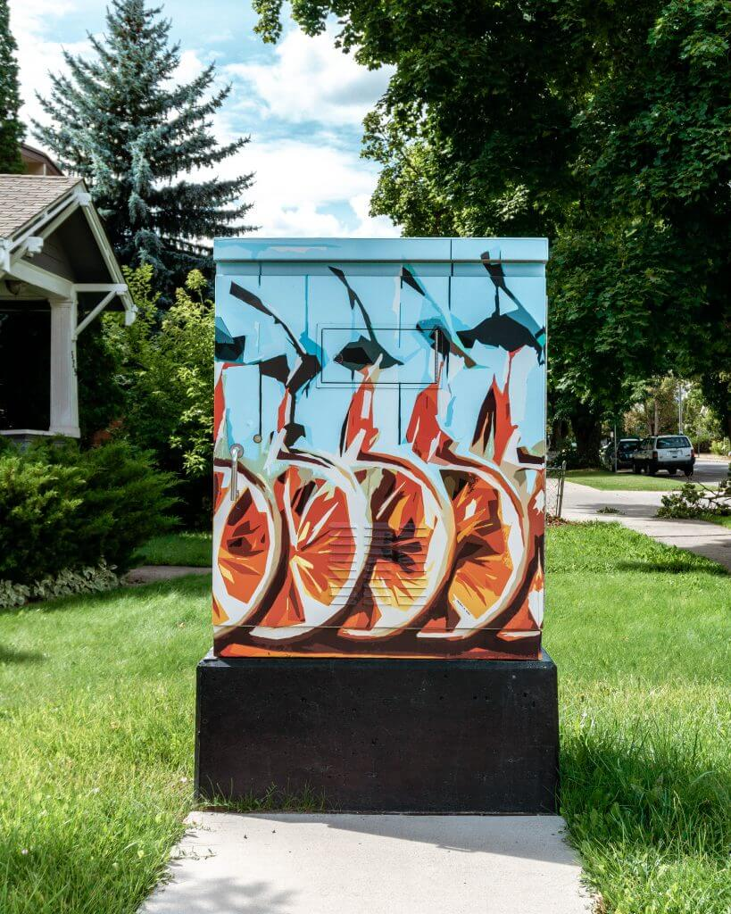 Pictures of cable boxes in Missoula.