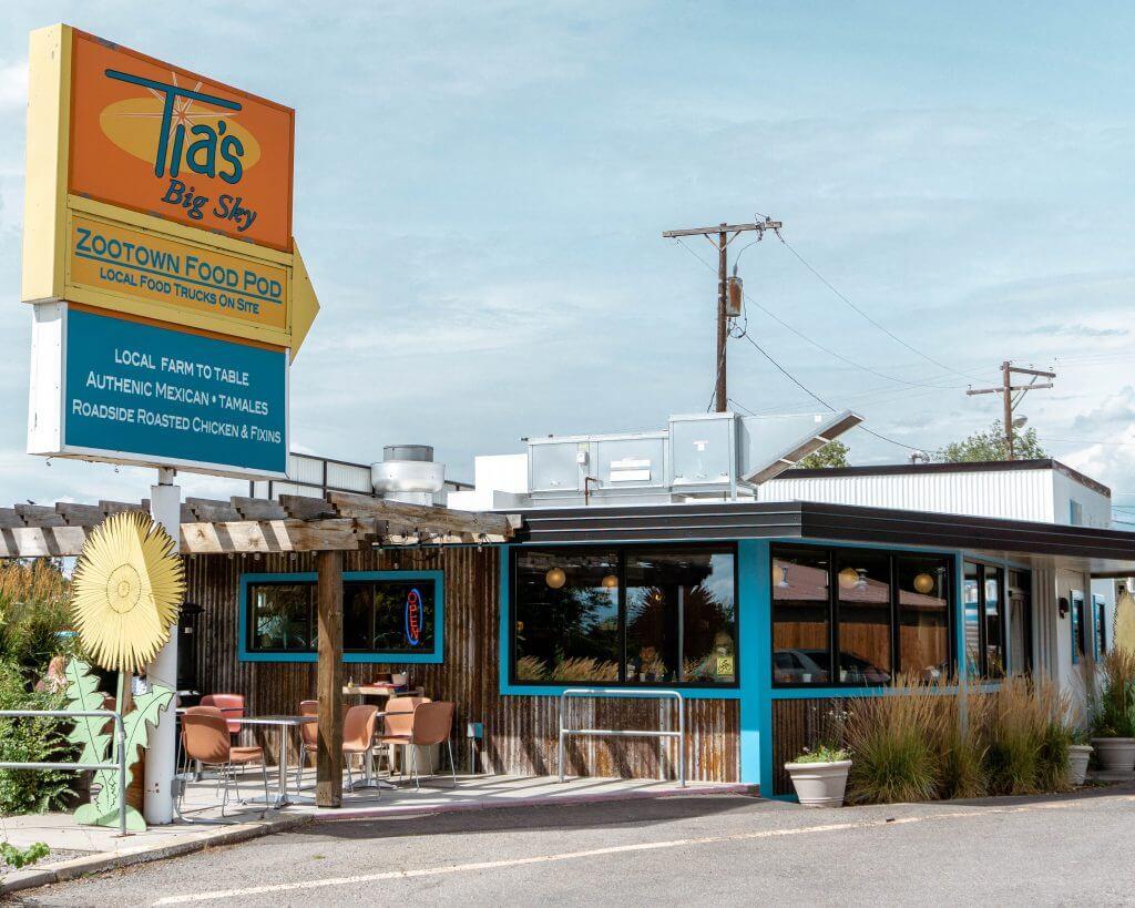 Tia's Big Sky restaurant in Missoula.