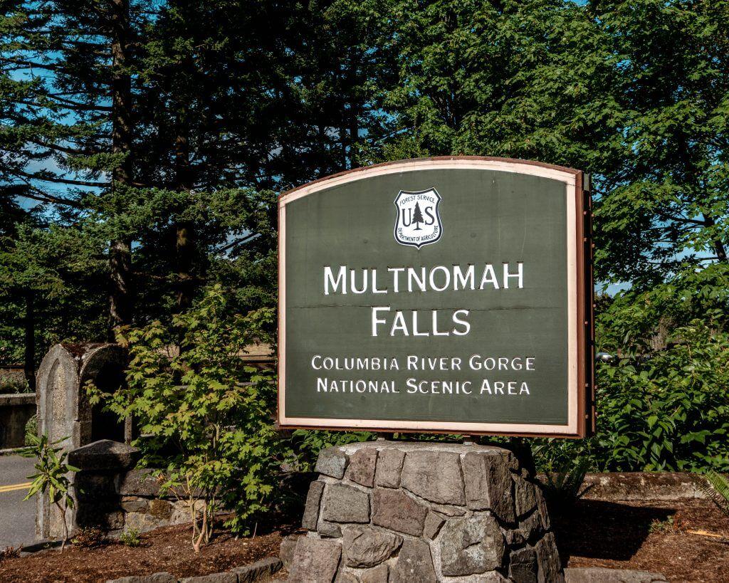 Multnomah Falls in the Columbia River Gorge National Park.