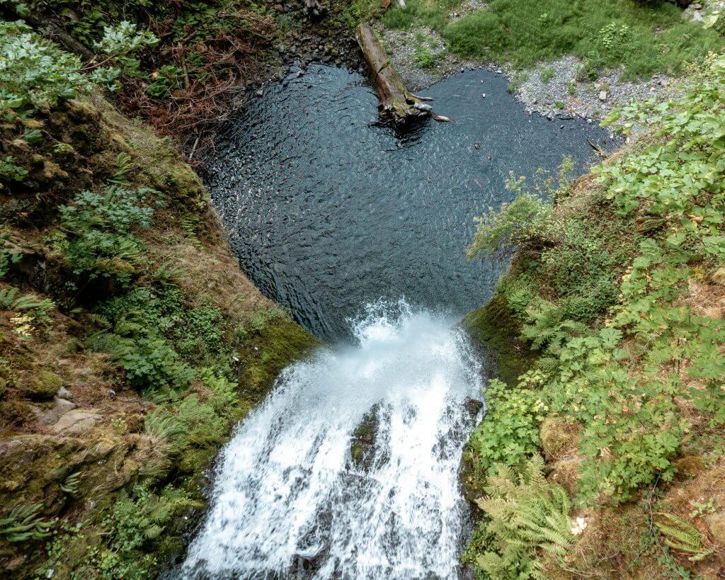 Waterfalls near Portland.