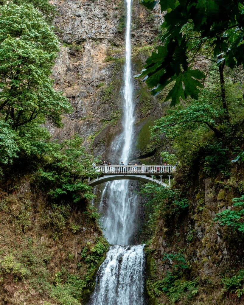 The Best Guided Waterfall Tour From Portland - Red White Adventures
