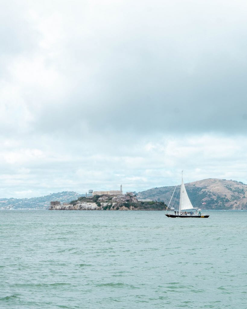 Alcatraz prison.