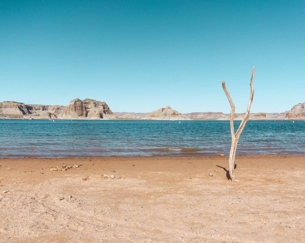 Lake Powell near Page, Arizona.