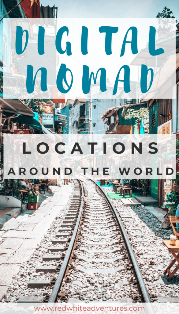 Digital Nomad Cities Pin