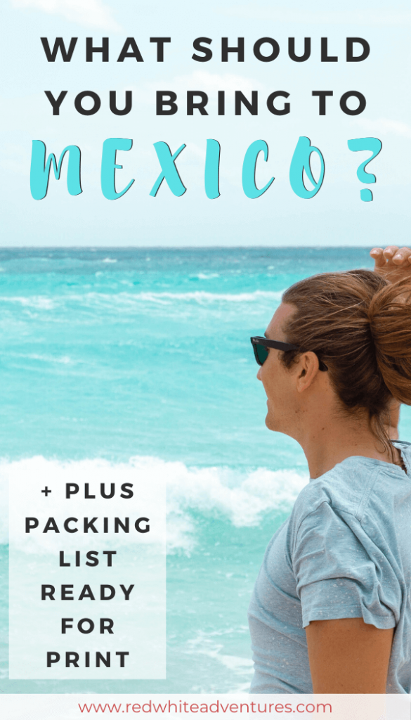 Need a packing list for Mexico?