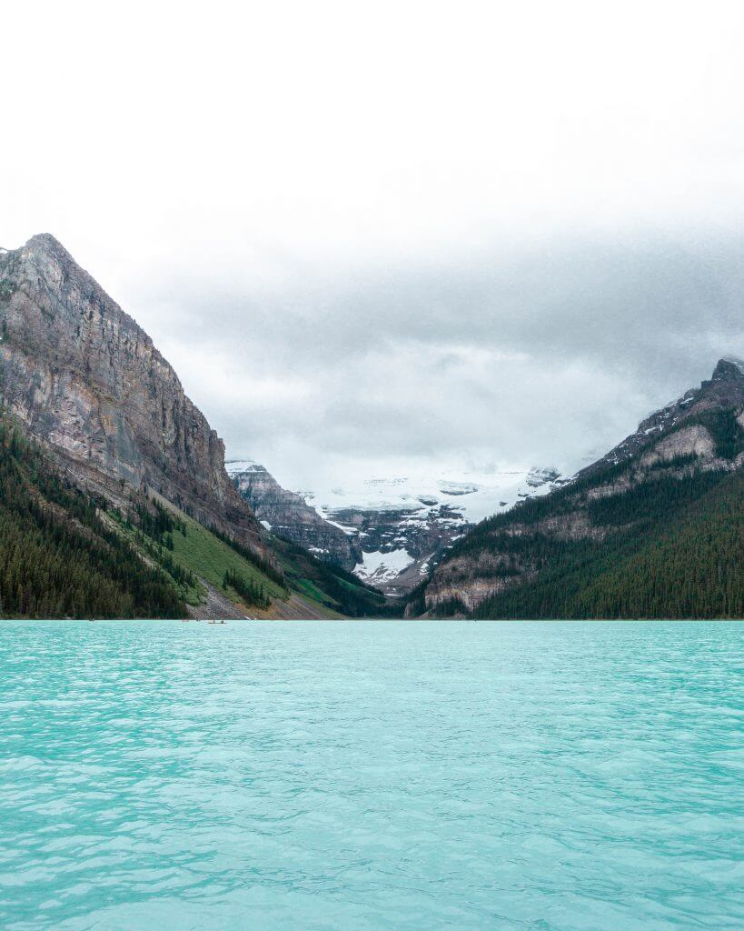 Stunning Lake in Alberta.