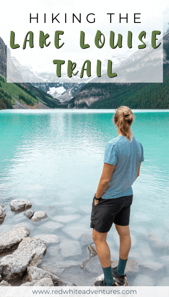 Lake Louise and it's beautiful colour for Pinterest.