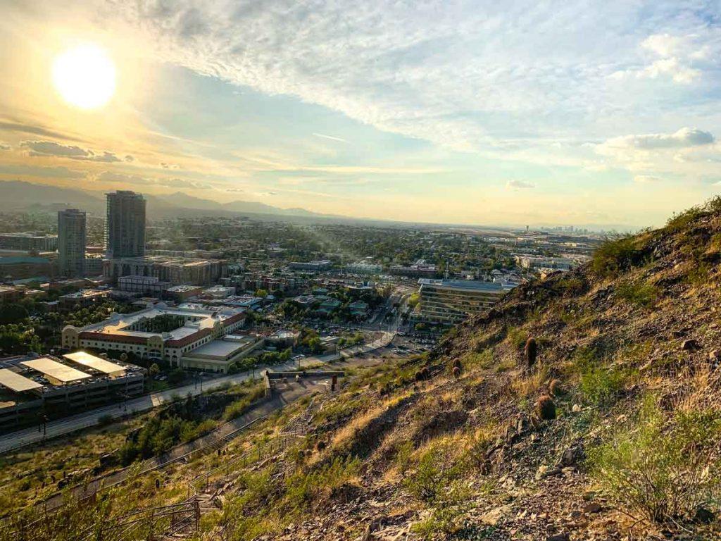 A Mountain in Tempe is a fun easy hike in Arizona.