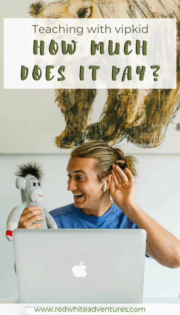 VIPKID pay and how much you earn per hour.