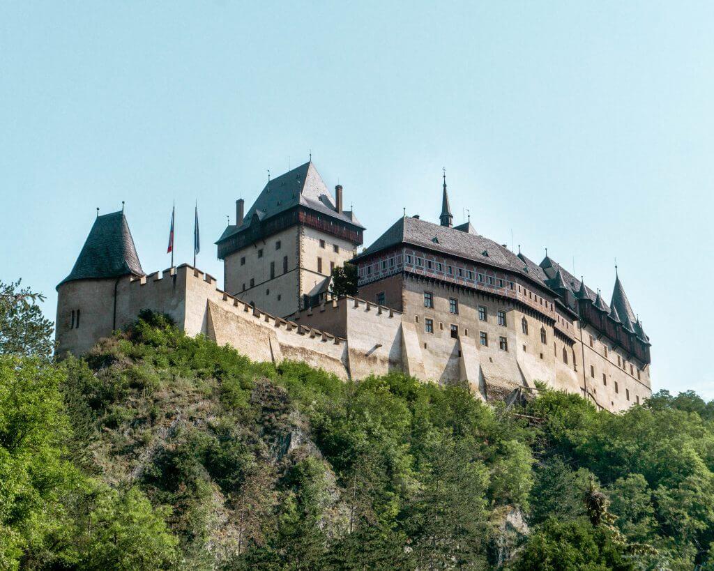 Karlstejn Castle in Czech Republic.