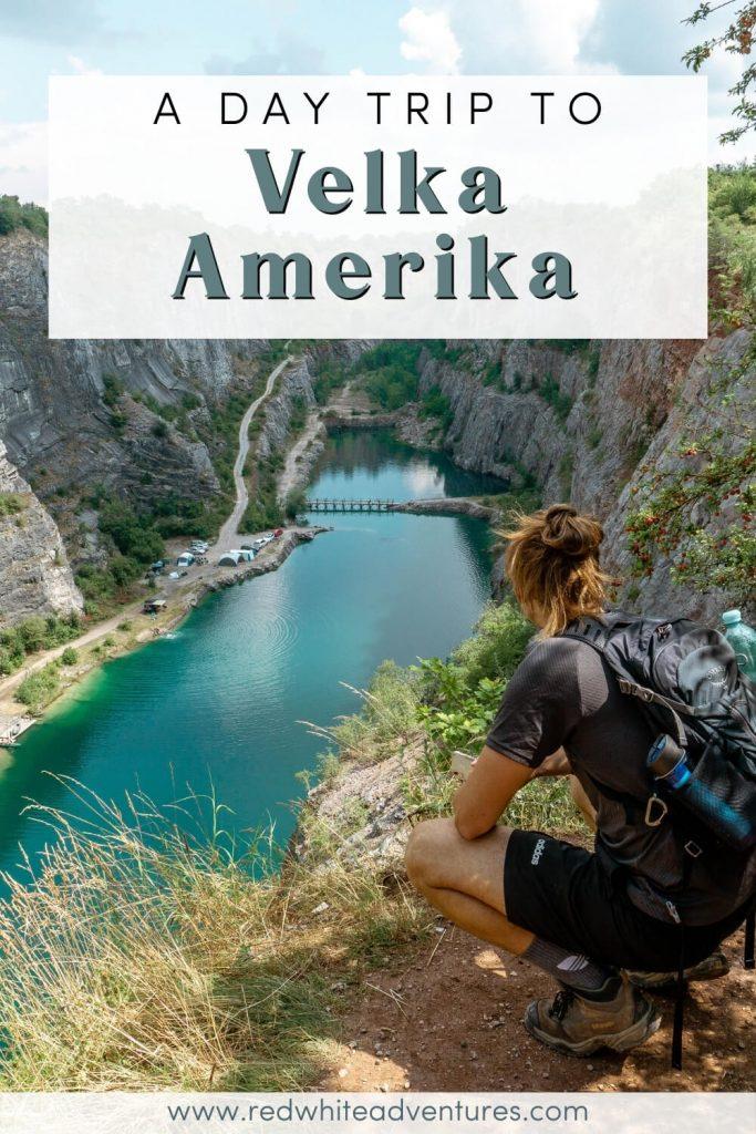 Dom overlooking Velka America in Czech Republic