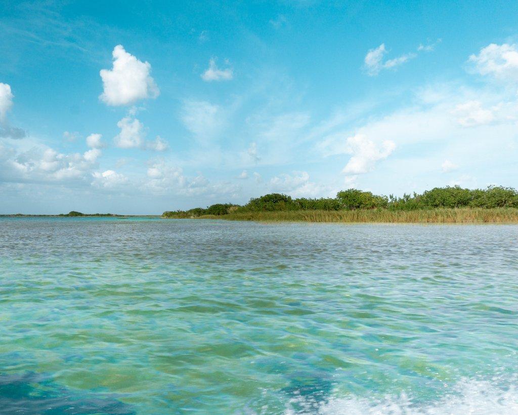 Gorgeous lagoon in Mexico.