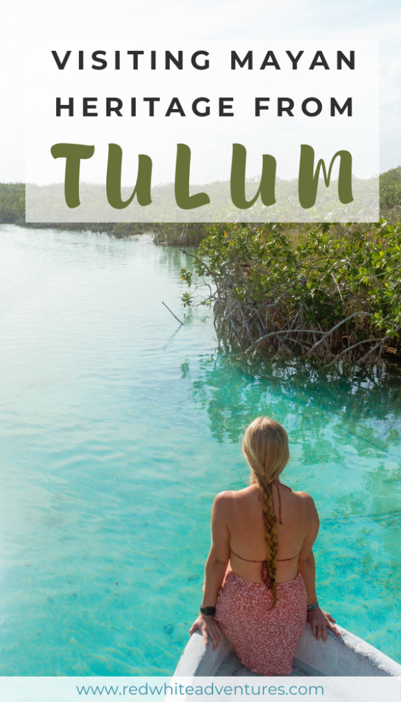Pin for Pinterest of Tulum.