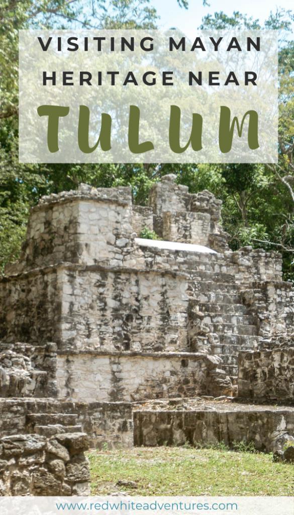 Mayan heritage site near Tulum pin.