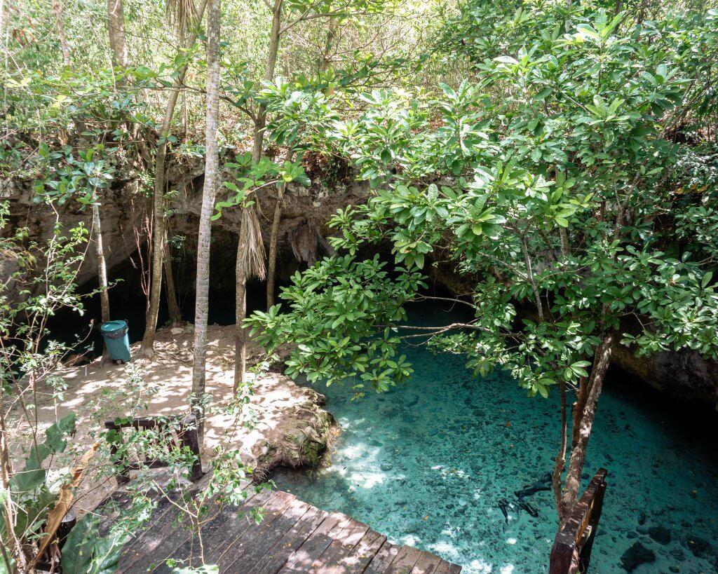 Gran Cenote is the best cenote in Tulum.