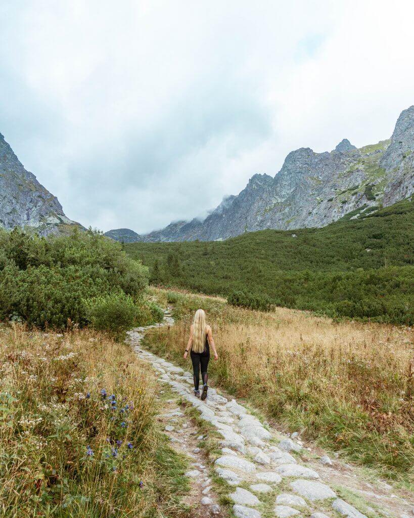 Hiking in Slovakia.