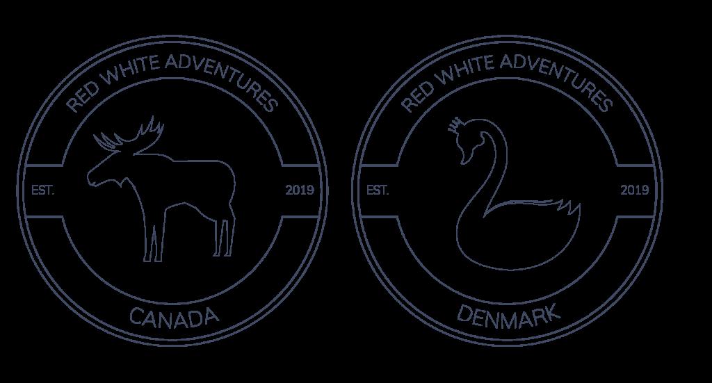 Red White Adventures logo
