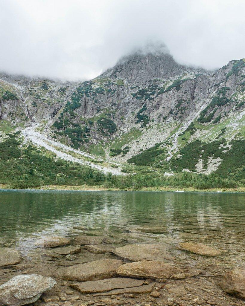 The most beautiful lake in Slovakia.