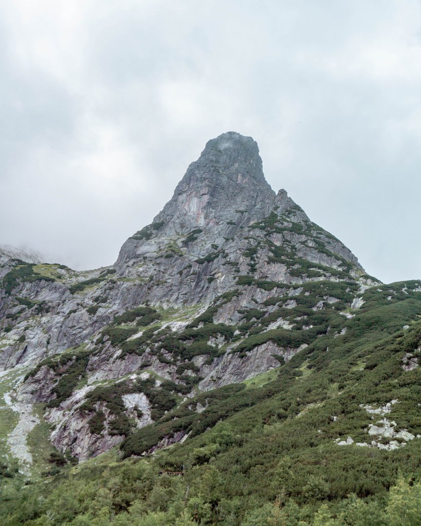 Mountain top in the High Tatras.