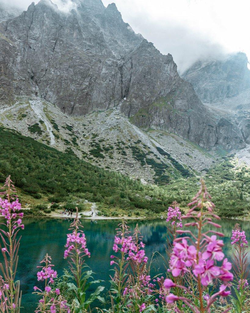 Zeleno Pleso hike in the High Tatras.