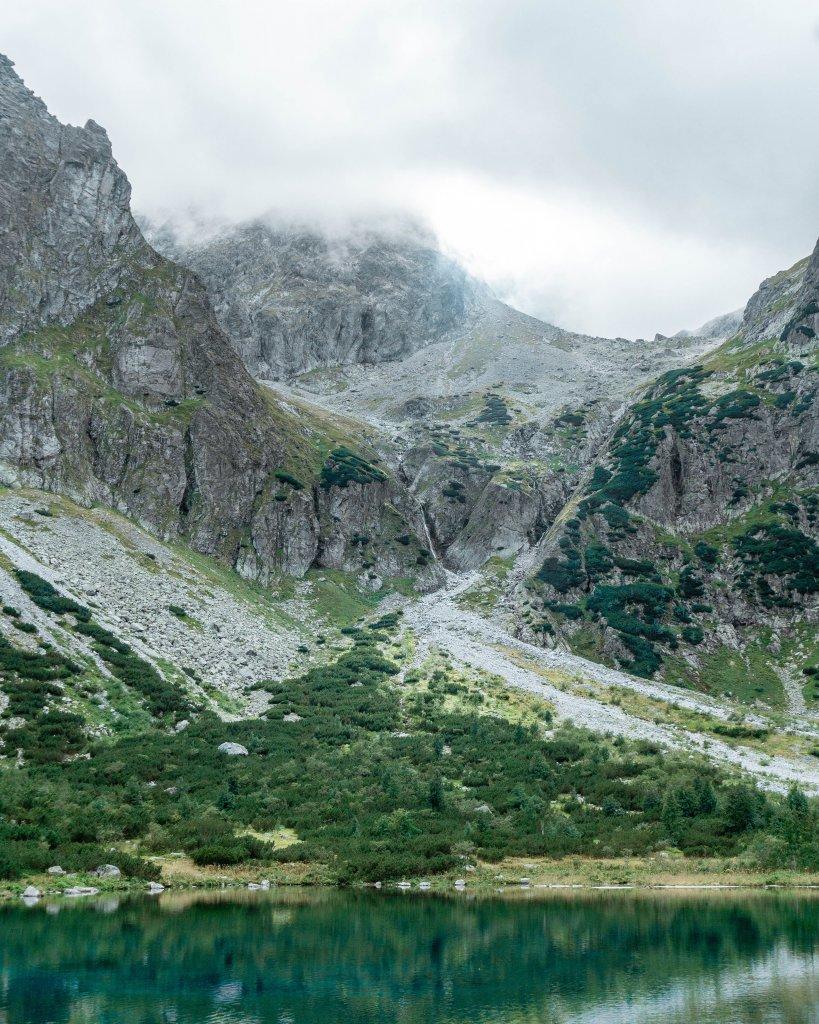 Views from Zelene Pleso.