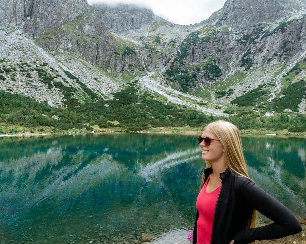 Amazing view from Zelene Pleso trail in Slovakia's High Tatras.