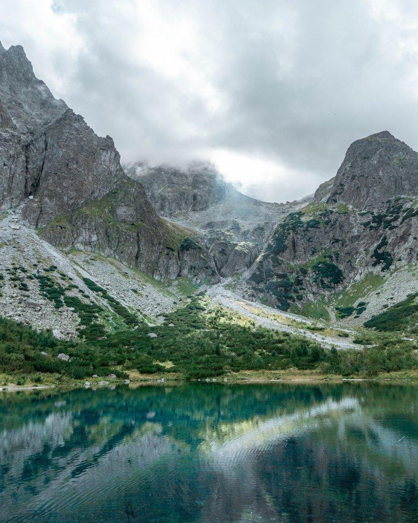 Waterfall in the High Tatras.