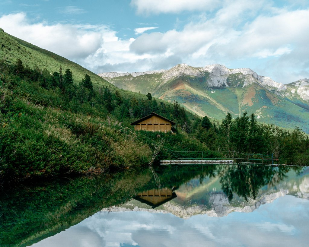 Beautiful cotta in the High Tatras.