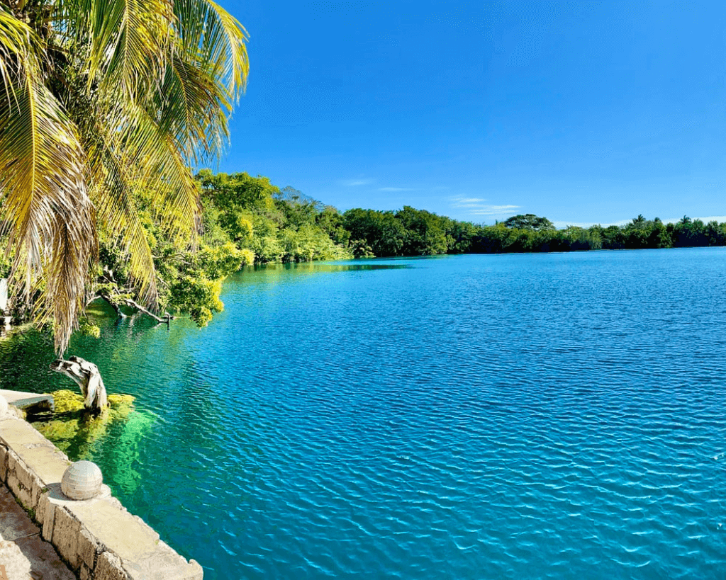 Cenote Azul is one of the most beautiful cenotes in Yucatan.