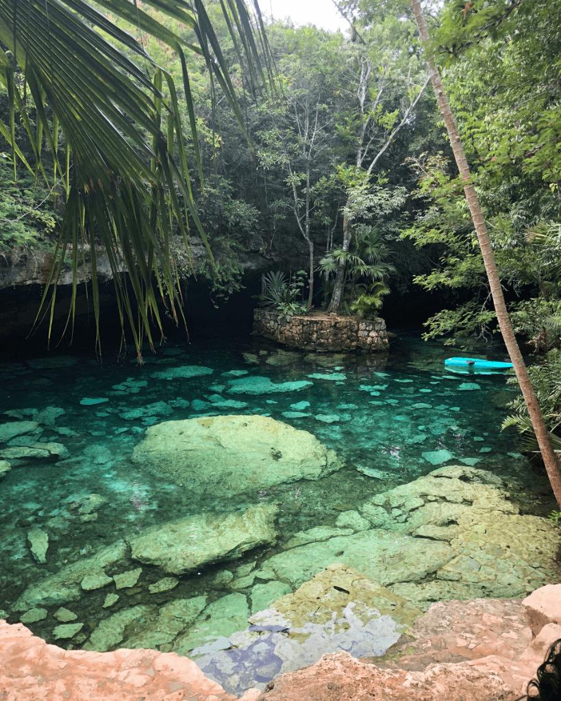 Casa Azul is such a wonderful cenote near Playa del Carmen.