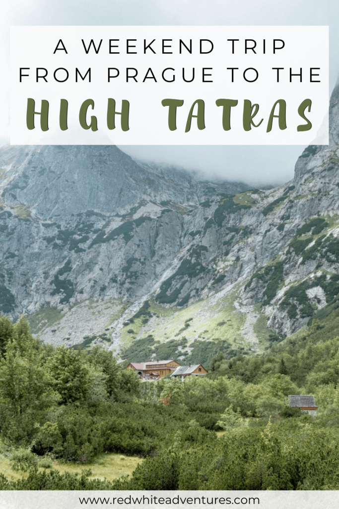 Weekend trip the the High Tatras Pin for Pinterest.
