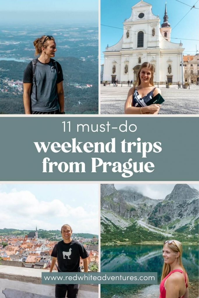 Pin for Pinterest of amazing trips in Prague.