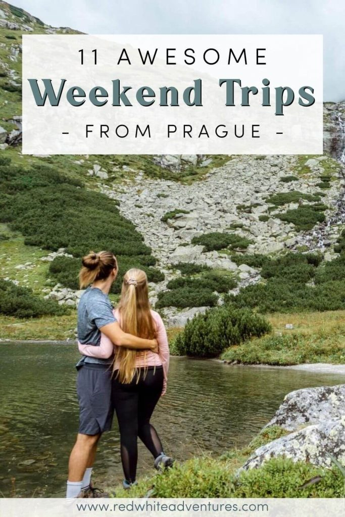 Weekend trips from Prague Pin for Pinterest