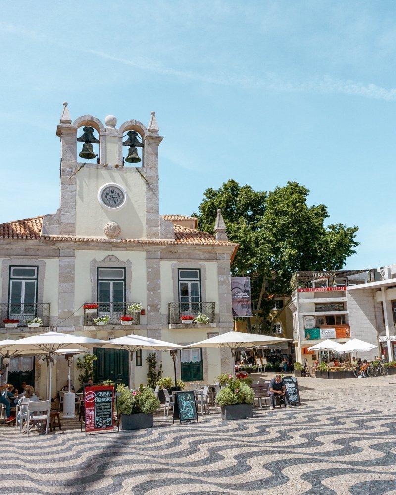 City centre of Cascais.