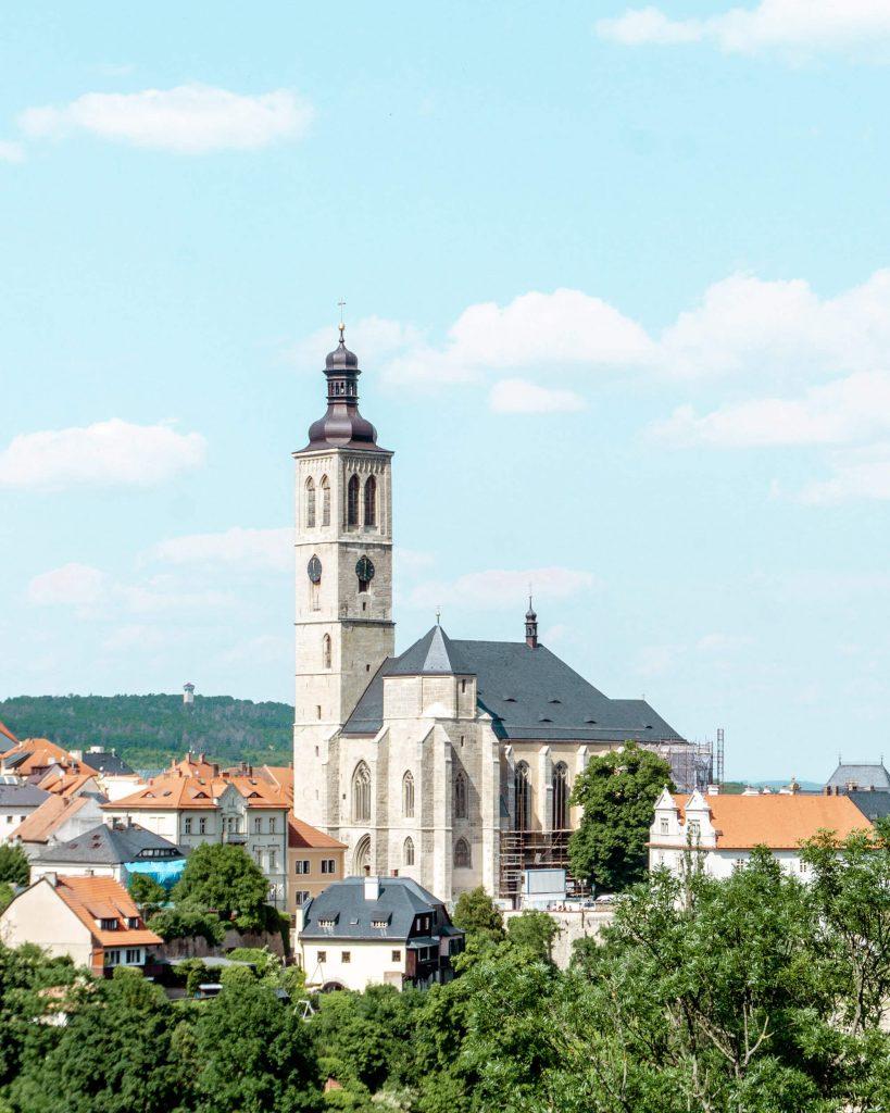 Picture of a Church in Kutna Hora, Czech Republic.