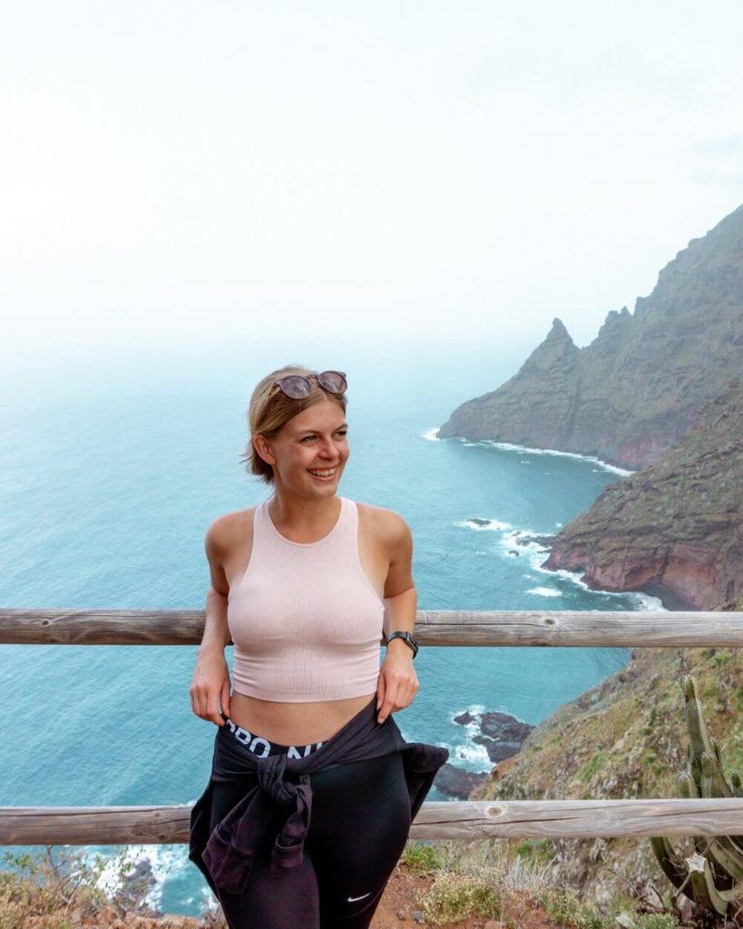 Views from hiking around Punta de Hidalgo in Tenerife.