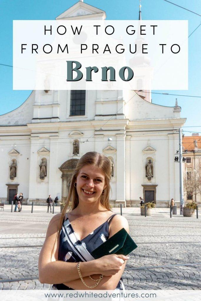 Prague to Brno Pin for Pinterest.