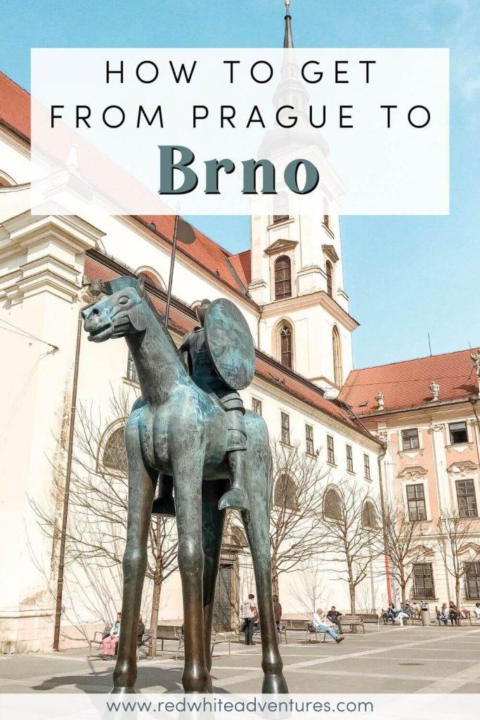 Brno to Prague Pin for Pinterest.