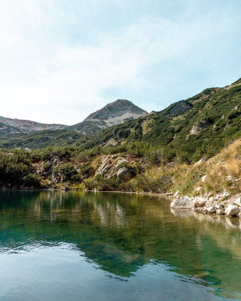 Okoto Lake in the Pirin National Park.