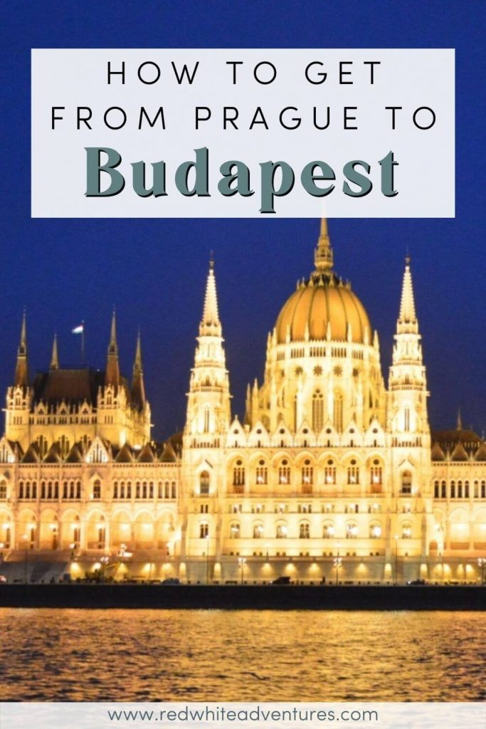 Prague to Budapest Pin for Pinterest.