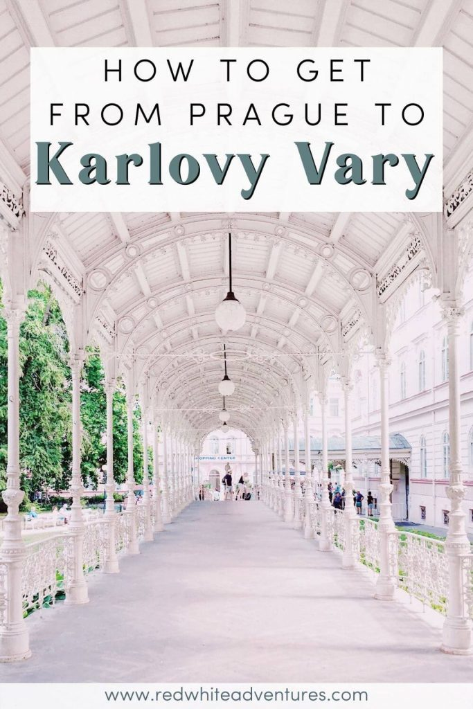 Pin for Pinterest about Prague to Karlovy Vary.